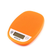 AMCO Digital Kitchen Scales, 5kg/11lb Cooking Food Electronic Scale, Weighing Scales with LCD Display, Accurate to 1 Gramme, Slim Design, for Home, Kitchen