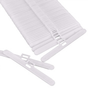 50 Pack Vertical Blind Top Hangers for 89 mm (3.5 Inch) Slats, White