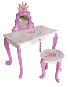 Bebe Style Wooden Princess Dressing Table & Stool