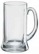 Icon Pint Glass Tankard 20oz / 568ml - | Classic Beer Tankard, Beer Mug