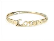 Bracelet-Love Bangle-Gold