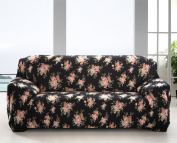 Sofa Covers 3 Seater Sofa Slipcover Stretch Elastic Pet Dog Couch Protector Polyester Fabric Soft Couch Cover Floral Print Slipcover