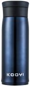 Kooyi Vacuum Insulated Travel Coffee Mug 450 ML, Leak Proof Stainless Steel Flask