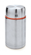 Iris Solid Vacuum Flask For Food, Stainless Steel, 10.5 x 10.5 x 20 cm Silver
