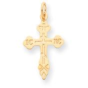 Roy Rose Jewellery 10K Yellow Gold Cross Charm