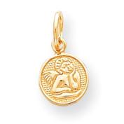 Roy Rose Jewellery 10K Yellow Gold Angel Charm