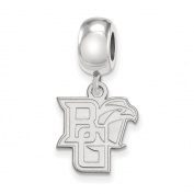 925 Genuine Sterling Silver Officially Licenced Bowling Green State University Bead Charm Small Dangle