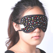 Vin Beauty Breathable Sleepping Mask Travel Rest Aid Cover Floral Printed Blindfold Eye Patch