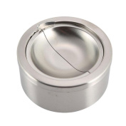 VingDy Sand - Light Ashtray Round Stainless Steel Ashtray With Cover