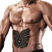 Abdominal Toning Belt,Ikeepi Fitness EMS Train Gear Electric Stimulators Battery Powered for Men Women …