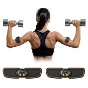 Ikeepi EMS Muscle Stimulation Arm Train Gear Fitness Ab Exerciser for Men Women