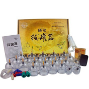 Exhausted plastic cupping