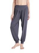 Harem Pants Soft Modal Yoga Pant Solid Colour Sports Dance Pilates Elastic Waistband Fitness for Women