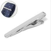 Multiware Metal Silver Tie Clip 60MM Premium Solid Clasp Wedding Tie Bar Clip