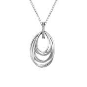 Hot Diamonds Chandelier Vintage Pendant on a Chain of Length 55cm