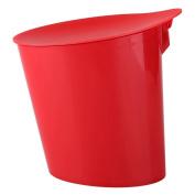 GAOLILI Desktop Trash Toilet Bathroom Bedroom Mini Creative Desk Trash Can With Lid Dustbins