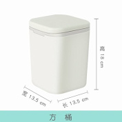 Push The Desktop Trash Cans With Creative Cover Small Living Room Kitchen Desk, Barrels Of ,02
