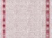 """PAPSTAR Soft Selection, 100 Place Mats, Fabric-Like Fleece Plus """"30x40 cm Bordeaux"""" Gourmet, # 84958"""
