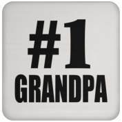 Number One #1 Grandpa - Coaster, High Gloss Coaster, Best Gift for Birthday, Anniversary, Easter, Valentines Mothers Fathers Day