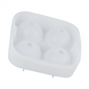 Sharplace 1 Pcs Silicone Bourbon Ice Ball Maker Cube Mould Sphere Tray Novelty Gag Gift