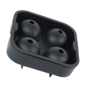 Sharplace Silicone Bourbon Ice Cube Mould Ball Maker Large Square Moulds for Kitchen
