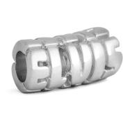 Sterling Silver ELVIS Barrel Charm