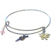 Charming Accents Adjustable Charm Bangle, 19cm , Knitball
