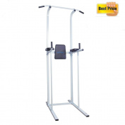 Schindora Multi Gyms Power Tower Dip Station Vertical Knee Raise Pull Chin Push Up Workout