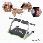 Tedamegaeu 6 In 1 BN Home Gym Ab Workout Fitness Train Machine Body Exercise System