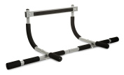 Hillington ® Pull Up Door Bar Gym - Heavy Duty Multifunctional Personal Home Exercise Training Fitness Tool - Non Slip Rubber Feet and Soft Comfortable Padded Foam Grip - Complete Upper Body Workout
