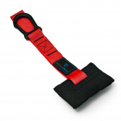 Door anchor - door attachment for sling trainer / sling trainer with carabiner
