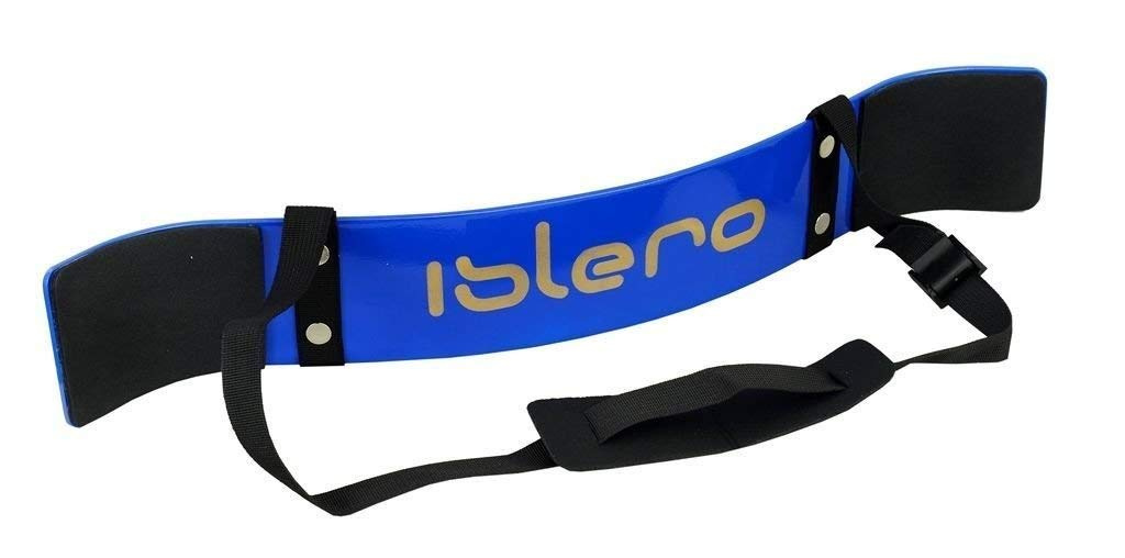 ISLERO Fitness Weightlifting Arm Blaster Biceps Isolator Gym Support Strap Wraps
