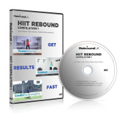 HIIT Rebound Compilation 1 DVD containing 3 high energy Mini Trampoline workouts. Our Rebounding DVD will Burn fat & get into great shape FAST! Claim 15% cash back on all our Rebounders. See below