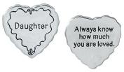 Daughter Pocket Token Charm Gift for Daughter