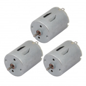 Unique Bargains 3pcs DC6V 18000RPM High Speed Magnetic Electric Micro DC Motor R280 for RC Model