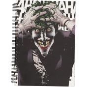 Batman Joker Black Double Spiral Notebook A5