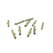 creafirm – 10 Tubes 30 mm Bronze For Crafts Miyuki or Ball Chain