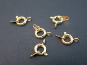 Jewellery Findings Clasps Jump Rings Toggle Tags Gold Coloured Jewellery Making