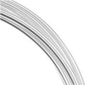 Silver Plated Copper German Bead Wire Craft Wire 22 Gauge/.6mm