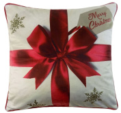 Catherine Lansfield Festive Merry Christmas Pressies Cushion Cover