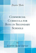 Commercial Curricula for Boys in Secondary Schools