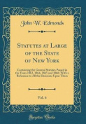 Statutes at Large of the State of New York, Vol. 6