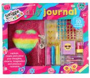 Smiggle DIY Keepsake Journal - Girls Create Your Own Lockable Notebook