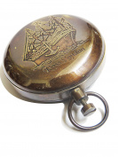 Dalvey Pocket Compass Push Button ~ Christmas Gift By Nauticalmart