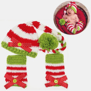 JZK® 3 pcs newborn baby photography prop for 0- . , baby outfit photo prop crochet knitted hat infant costume for new born baby boy & girl