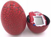 Multi-colour Cartoon Dinosaur Egg Mini Hand-hold, Tamagotchi Keychain Nostalgic Tiny Digital Virtual Pet Electronic Game, Crackle Tumbler Gifts Toy For kids For Christmas & Birthday