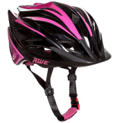 AWE® AWEBlade™ FREE 5 YEAR CRASH REPLACEMENT* In Mould Junior Girls Cycling Helmet 52-56cm Pink/Black
