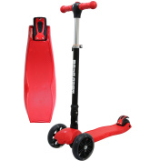 Kids Scooter 3 Wheels - Foldable & Height Adjustable - with Flashing LED Lights