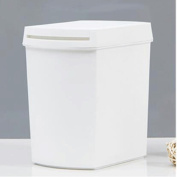 GAOLILI Household Trash Can With A Lid Creative Living Room Dustbins Kitchen Trash Can