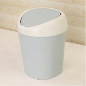 GAOLILI Mini Home Living Room Table Trash Can Creative Storage Bin Small Desktop Dustbins
